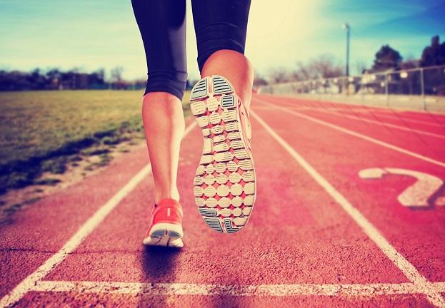Course avec un objectif