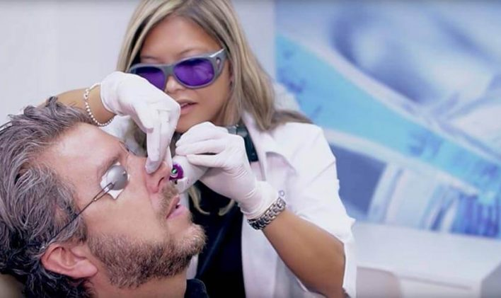 Traitement Lasers Vasculaires