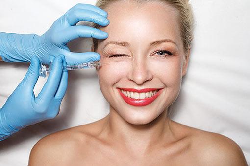 Method for filling wrinkles