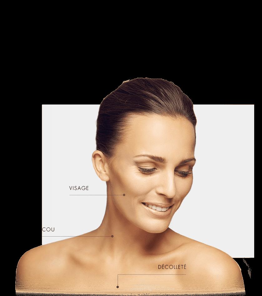zone traitable hydrafacial femme visage