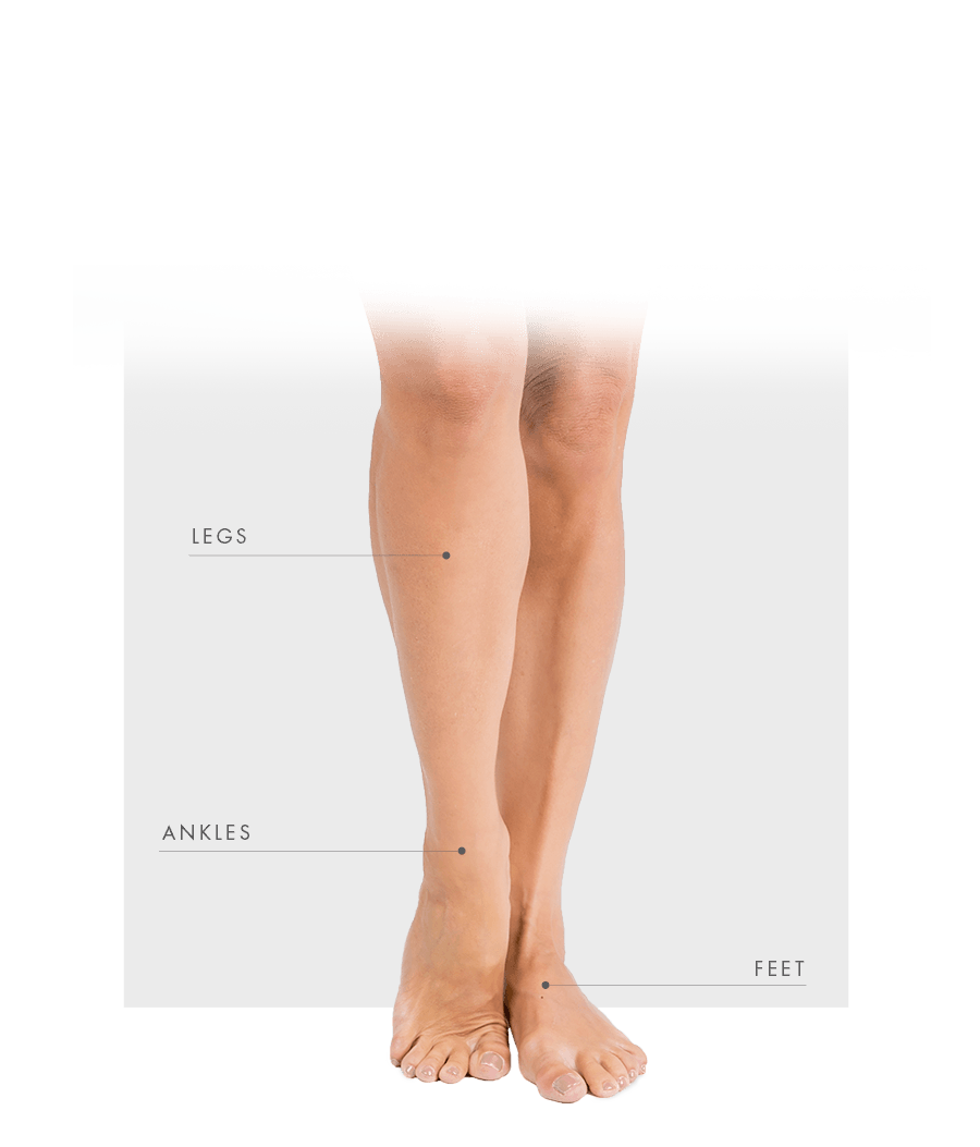 Tattoo Removal Laser zone women leg