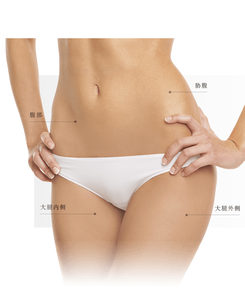 Coolsculpting zones ventre femme