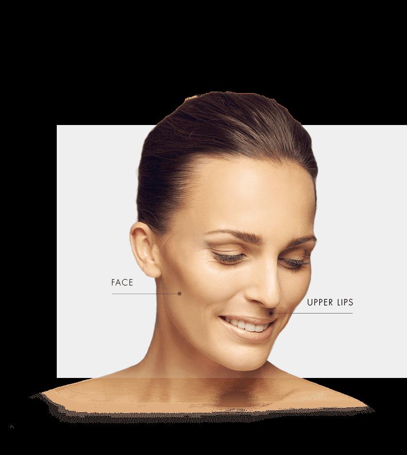 hair removal zone women