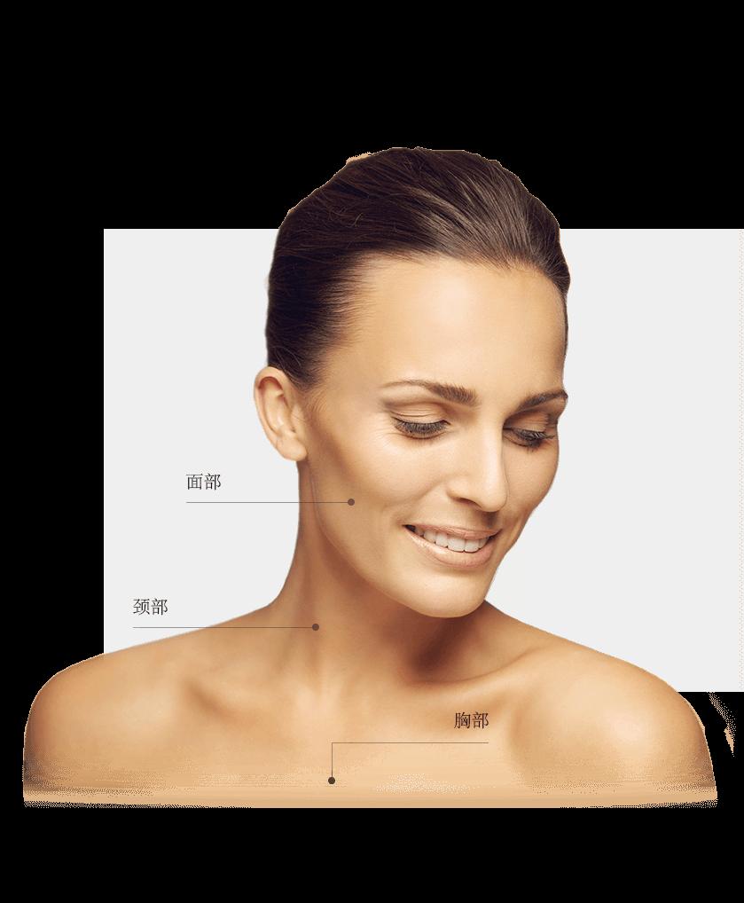 Infu-micro zones visage femme