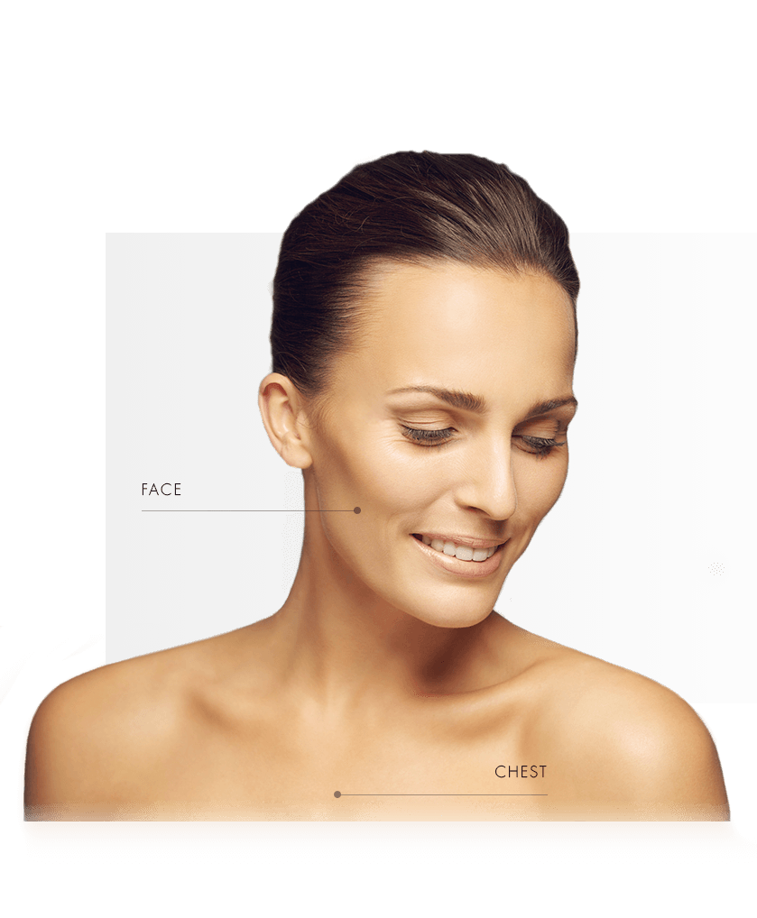 fractional lasers treatable zone women face