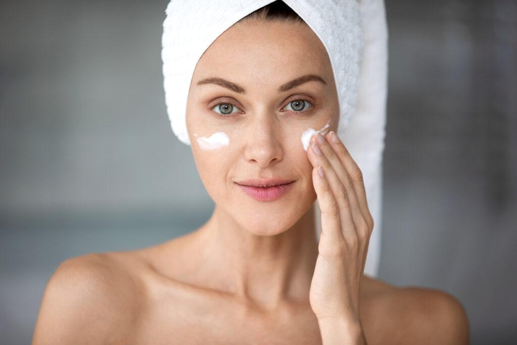 Healthy glowing skin