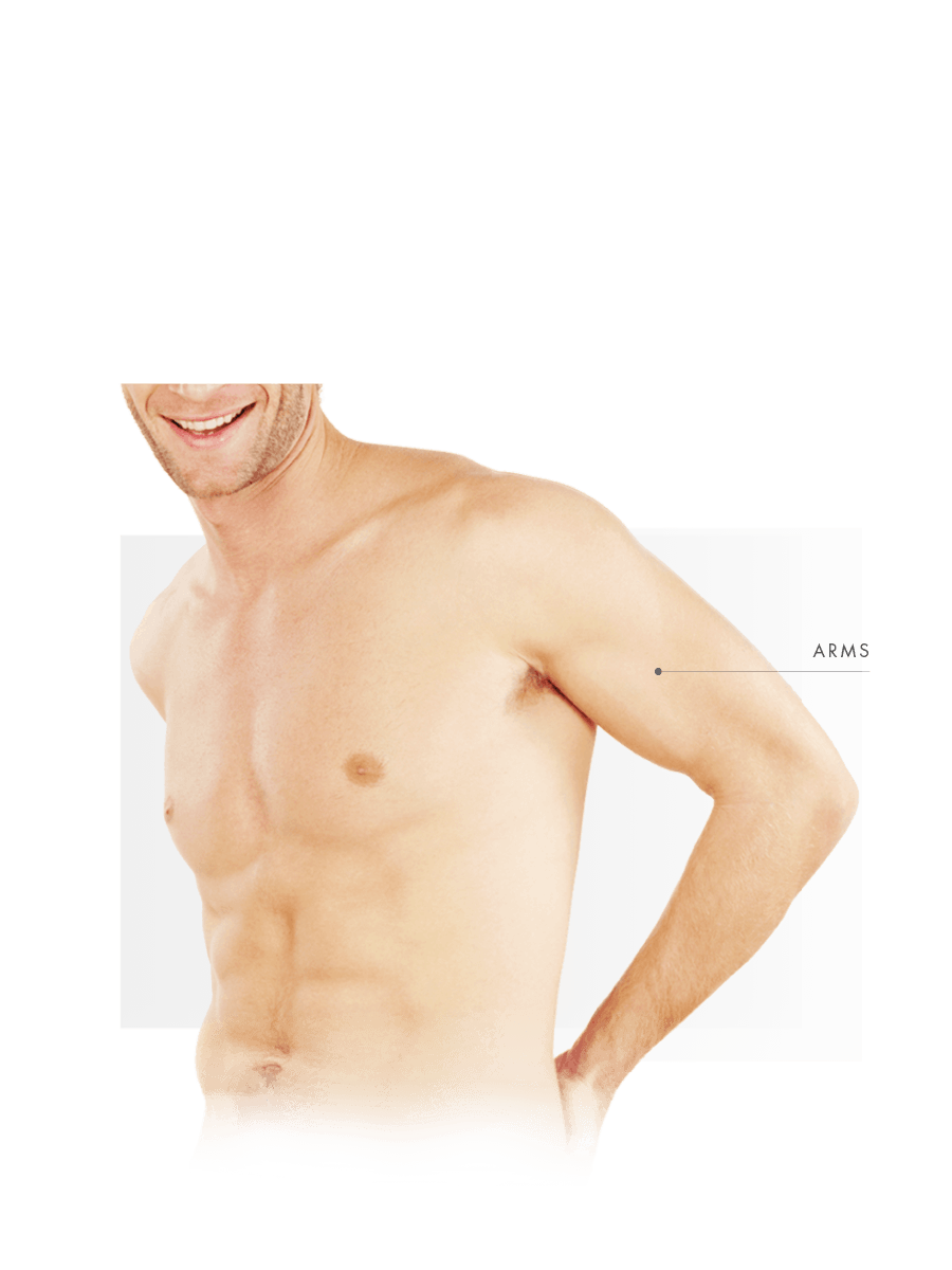 Microneedling for men for arms